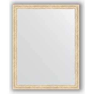 Зеркало в багетной раме поворотное Evoform Definite 73x93 см, слоновая кость 51 мм (BY 1040) аксессуар защитное стекло для samsung galaxy s7 onext 3d с рамкой silver