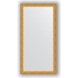 Фото - Зеркало в багетной раме поворотное Evoform Definite 52x102 см, сусальное золото 47 мм (BY 1053) зеркало в багетной раме поворотное evoform definite 52x142 см сусальное золото 47 мм by 1068