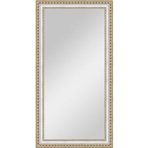 Зеркало в багетной раме поворотное Evoform Definite 55x105 см, золотые бусы на серебре 60 мм (BY 1057) winner wr 7508