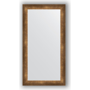 Зеркало в багетной раме поворотное Evoform Definite 56x106 см, состаренная бронза 66 мм (BY 1060)
