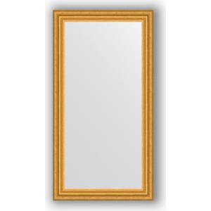 Зеркало в багетной раме Evoform Definite 56x106 см, состаренное золото 67 мм (BY 1061) зеркало в багетной раме evoform definite 50x140 см состаренное серебро 37 мм by 0713
