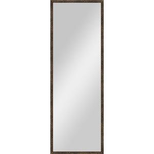 Зеркало в багетной раме поворотное Evoform Definite 48x138 см, витая бронза 26 мм (BY 1062) н н щебарова международные валютно финансовые отношения учебное пособие