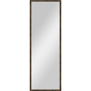 Зеркало в багетной раме поворотное Evoform Definite 48x138 см, витая бронза 26 мм (BY 1062) зеркало в багетной раме поворотное evoform definite 54x144 см травленое серебро 59 мм by 0718