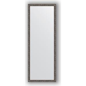 Зеркало в багетной раме Evoform Definite 50x140 см, черненое серебро 38 мм (BY 1063) зеркало в багетной раме evoform definite 50x140 см состаренное серебро 37 мм by 0713