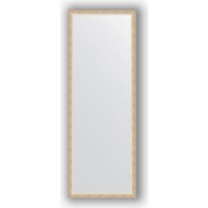 где купить Зеркало в багетной раме поворотное Evoform Definite 51x141 см, мельхиор 41 мм (BY 1065) дешево