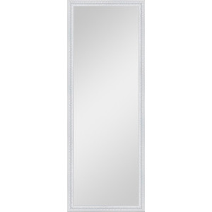 Зеркало в багетной раме поворотное Evoform Definite 52x142 см, алебастр 48 мм (BY 1066) evoform зеркало в багетной раме evoform 52x142 см 6322099 mpmxd6r 6322099