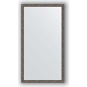 Зеркало в багетной раме поворотное Evoform Definite 60x110 см, черненое серебро 38 мм (BY 1078) feizhouying серебро 38 мм