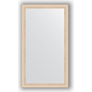 Зеркало в багетной раме поворотное Evoform Definite 64x114 см, беленый дуб 57 мм (BY 1086) зеркало в багетной раме поворотное evoform definite 54x144 см травленое серебро 59 мм by 0718