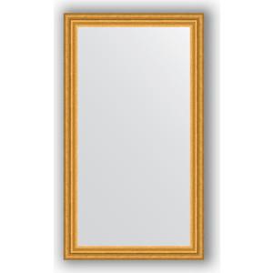 Зеркало в багетной раме Evoform Definite 66x116 см, состаренное золото 67 мм (BY 1091) зеркало в багетной раме evoform definite 50x140 см состаренное серебро 37 мм by 0713