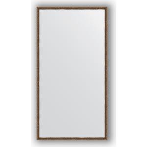 Зеркало в багетной раме поворотное Evoform Definite 68x128 см, витая бронза 26 мм (BY 1092) зеркало в багетной раме поворотное evoform definite 54x144 см травленое серебро 59 мм by 0718