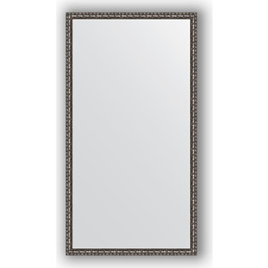 Зеркало в багетной раме поворотное Evoform Definite 70x130 см, черненое серебро 38 мм (BY 1093) feizhouying серебро 38 мм