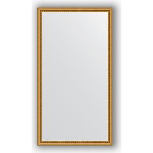 Зеркало в багетной раме поворотное Evoform Definite 72x132 см, бусы золотые 46 мм (BY 1097) зеркало в багетной раме evoform definite 38x48 см бусы золотые 46 мм by 1344