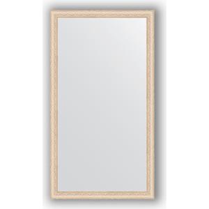 Зеркало в багетной раме поворотное Evoform Definite 74x134 см, беленый дуб 57 мм (BY 1101) зеркало в багетной раме поворотное evoform definite 54x74 см беленый дуб 57 мм by 0796