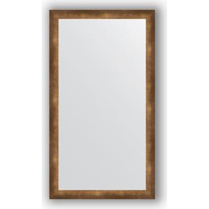 Зеркало в багетной раме поворотное Evoform Definite 76x136 см, состаренная бронза 66 мм (BY 1105) зеркало в багетной раме поворотное evoform definite 76x136 см серебреный дождь 70 мм by 3304