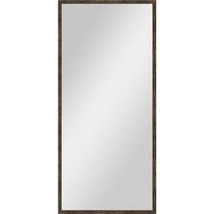 Зеркало в багетной раме поворотное Evoform Definite 68x148 см, витая бронза 26 мм (BY 1107) цены