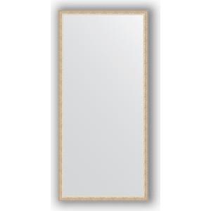 Зеркало в багетной раме поворотное Evoform Definite 71x151 см, мельхиор 41 мм (BY 1110) зеркало в багетной раме поворотное evoform definite 71x151 см чеканка белая 46 мм by 3322