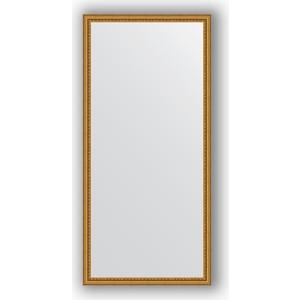 Зеркало в багетной раме поворотное Evoform Definite 72x152 см, бусы золотые 46 мм (BY 1112) крышка стеклянная swiss diamond zz009279