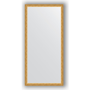 Фото - Зеркало в багетной раме поворотное Evoform Definite 72x152 см, сусальное золото 47 мм (BY 1113) зеркало в багетной раме поворотное evoform definite 52x142 см сусальное золото 47 мм by 1068