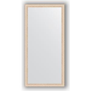 Зеркало в багетной раме поворотное Evoform Definite 74x154 см, беленый дуб 57 мм (BY 1116) зеркало в багетной раме evoform definite 64x64 см беленый дуб 57 мм by 0781