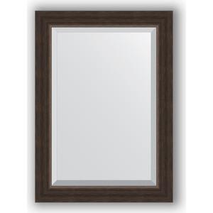Зеркало с фацетом в багетной раме поворотное Evoform Exclusive 51x71 см, палисандр 62 мм (BY 1124) зеркало evoform by 1180