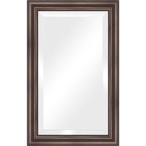 Зеркало с фацетом в багетной раме поворотное Evoform Exclusive 51x81 см, палисандр 62 мм (BY 1134) зеркало с фацетом в багетной раме поворотное evoform exclusive 51x111 см палисандр 62 мм by 1144