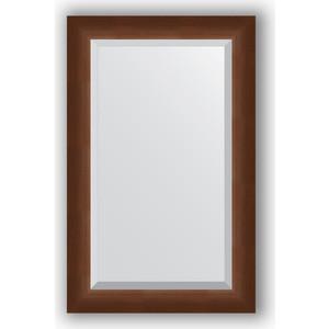Зеркало с фацетом в багетной раме Evoform Exclusive 52x82 см, орех 65 мм (BY 1137) evoform exclusive by 1239