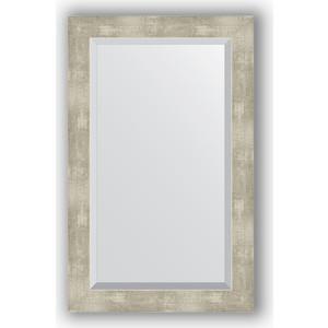 Фото - Зеркало с фацетом в багетной раме поворотное Evoform Exclusive 51x81 см, алюминий 61 мм (BY 1139) боди детский luvable friends 60325 f бирюзовый р 55 61