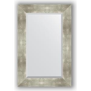 Зеркало с фацетом в багетной раме поворотное Evoform Exclusive 56x86 см, алюминий 90 мм (BY 1140) зеркало с фацетом в багетной раме evoform exclusive 56x86 см фреска 84 мм by 1239