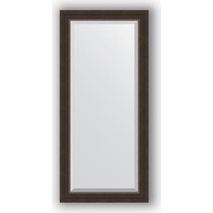 Зеркало с фацетом в багетной раме поворотное Evoform Exclusive 51x111 см, палисандр 62 мм (BY 1144) предусилитель plinius kaitaki phono silver