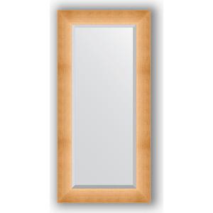 Зеркало с фацетом в багетной раме поворотное Evoform Exclusive 56x116 см, травленое золото 87 мм (BY 1151) зеркало в багетной раме поворотное evoform definite 54x144 см травленое серебро 59 мм by 0718