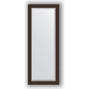 Зеркало с фацетом в багетной раме поворотное Evoform Exclusive 51x131 см, палисандр 62 мм (BY 1154) evoform зеркало в багетной раме evoform 72x92 см 6322067 oy czrbo 6322067