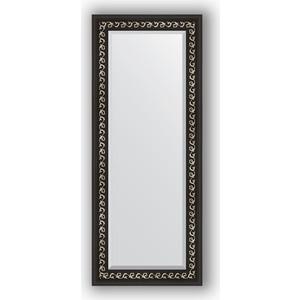 Зеркало с фацетом в багетной раме поворотное Evoform Exclusive 55x135 см, черный ардеко 81 мм (BY 1155) зеркало с фацетом в багетной раме поворотное evoform exclusive 51x111 см палисандр 62 мм by 1144