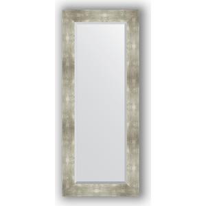 Зеркало с фацетом в багетной раме поворотное Evoform Exclusive 56x136 см, алюминий 90 мм (BY 1160) цена