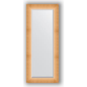 Зеркало с фацетом в багетной раме Evoform Exclusive 56x136 см, травленое золото 87 мм (BY 1161) evoform exclusive by 1161