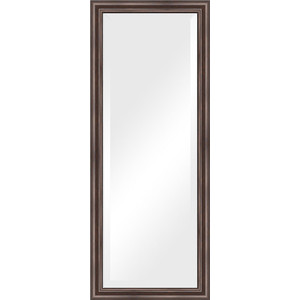 Зеркало с фацетом в багетной раме поворотное Evoform Exclusive 56x141 см, палисандр 62 мм (BY 1164) evoform exclusive by 1161