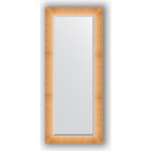 Зеркало с фацетом в багетной раме поворотное Evoform Exclusive 61x146 см, травленое золото 87 мм (BY 1171) зеркало в багетной раме поворотное evoform definite 54x144 см травленое серебро 59 мм by 0718