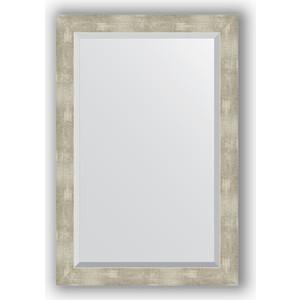 Фото - Зеркало с фацетом в багетной раме поворотное Evoform Exclusive 61x91 см, алюминий 61 мм (BY 1179) боди детский luvable friends 60325 f бирюзовый р 55 61