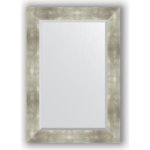 Зеркало с фацетом в багетной раме поворотное Evoform Exclusive 66x96 см, алюминий 90 мм (BY 1180) зеркало evoform by 1180