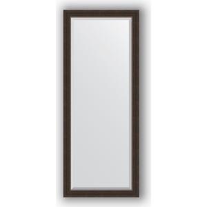 Зеркало с фацетом в багетной раме поворотное Evoform Exclusive 61x151 см, палисандр 62 мм (BY 1184) зеркало evoform by 0774