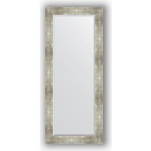 Зеркало с фацетом в багетной раме поворотное Evoform Exclusive 66x156 см, алюминий 90 мм (BY 1190) зеркало с фацетом в багетной раме поворотное evoform exclusive 76x166 см алюминий 90 мм by 1210