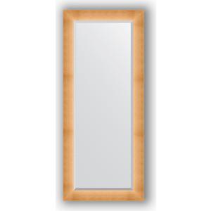Зеркало с фацетом в багетной раме поворотное Evoform Exclusive 66x156 см, травленое золото 87 мм (BY 1191) зеркало в багетной раме поворотное evoform definite 54x144 см травленое серебро 59 мм by 0718