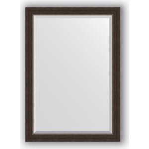 Зеркало с фацетом в багетной раме поворотное Evoform Exclusive 71x101 см, палисандр 62 мм (BY 1194) evoform зеркало в багетной раме evoform 72x92 см 6322067 oy czrbo 6322067
