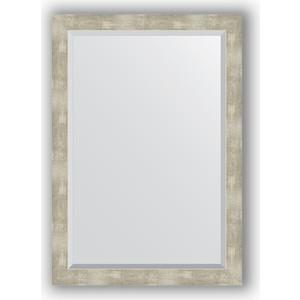 Зеркало с фацетом в багетной раме Evoform Exclusive 71x101 см, алюминий 61 мм (BY 1199)