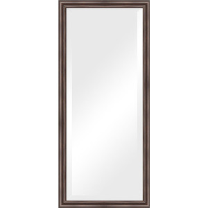 Зеркало с фацетом в багетной раме поворотное Evoform Exclusive 71x161 см, палисандр 62 мм (BY 1204) зеркало с фацетом в багетной раме поворотное evoform exclusive 51x111 см палисандр 62 мм by 1144