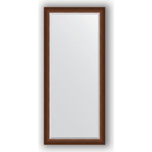 Зеркало с фацетом в багетной раме Evoform Exclusive 72x162 см, орех 65 мм (BY 1207) evoform exclusive by 1161