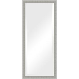 Фото - Зеркало с фацетом в багетной раме поворотное Evoform Exclusive 71x161 см, алюминий 61 мм (BY 1209) боди детский luvable friends 60325 f бирюзовый р 55 61