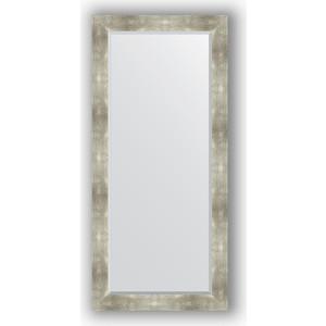Зеркало с фацетом в багетной раме поворотное Evoform Exclusive 76x166 см, алюминий 90 мм (BY 1210) evoform exclusive by 1161