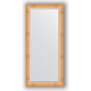 Зеркало с фацетом в багетной раме поворотное Evoform Exclusive 76x166 см, травленое золото 87 мм (BY 1211) зеркало с фацетом в багетной раме поворотное evoform exclusive 76x166 см алюминий 90 мм by 1210