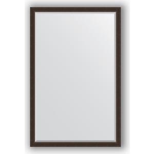 Зеркало с фацетом в багетной раме поворотное Evoform Exclusive 111x171 см, палисандр 62 мм (BY 1214) зеркало с фацетом в багетной раме поворотное evoform exclusive 51x111 см палисандр 62 мм by 1144