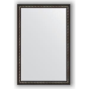 Зеркало с фацетом в багетной раме поворотное Evoform Exclusive 115x175 см, черный ардеко 81 мм (BY 1215) evoform exclusive by 1161